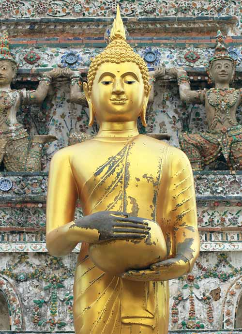 Hand mudras on images of the Buddha - Meaning & origin
