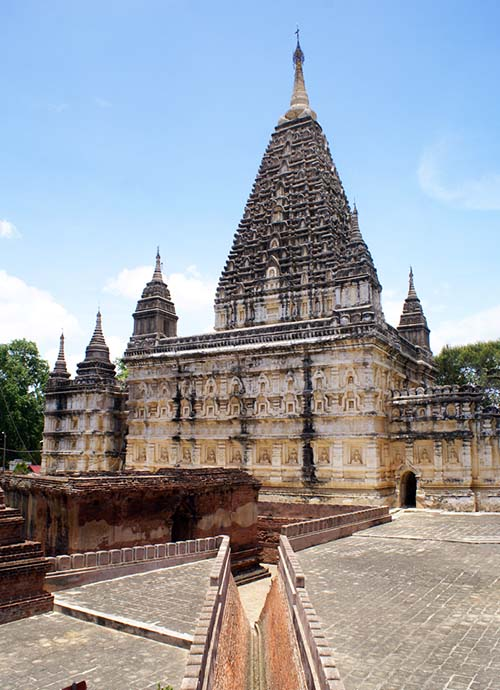 Mahabodhi temple - Unique style sanctuary in Bagan