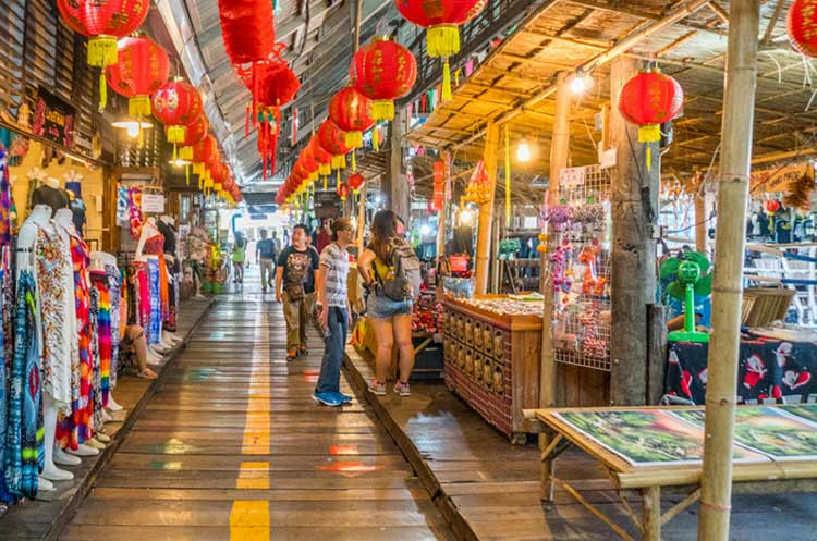 Pattaya floating market - Ticket price 160 Baht
