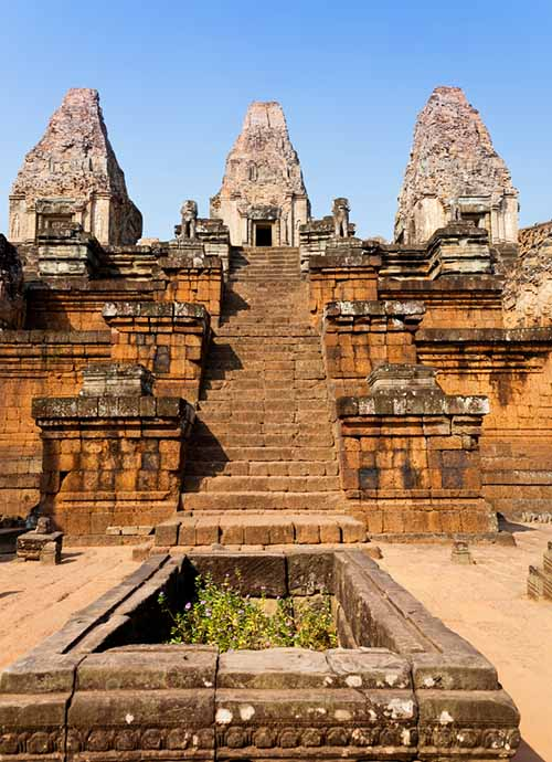 Pre Rup Angkor - Pyramid temple dedicated to Shiva