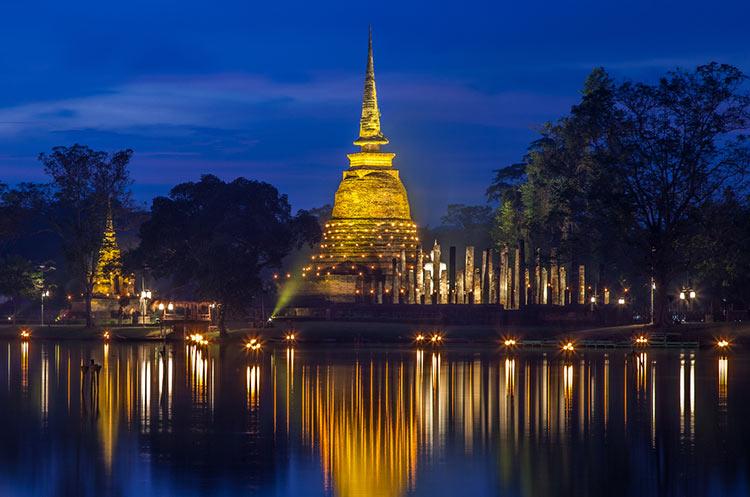 Sukhothai Historical Park Ruins Of The Sukhothai Kingdom